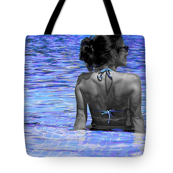 Pool Tote Bag