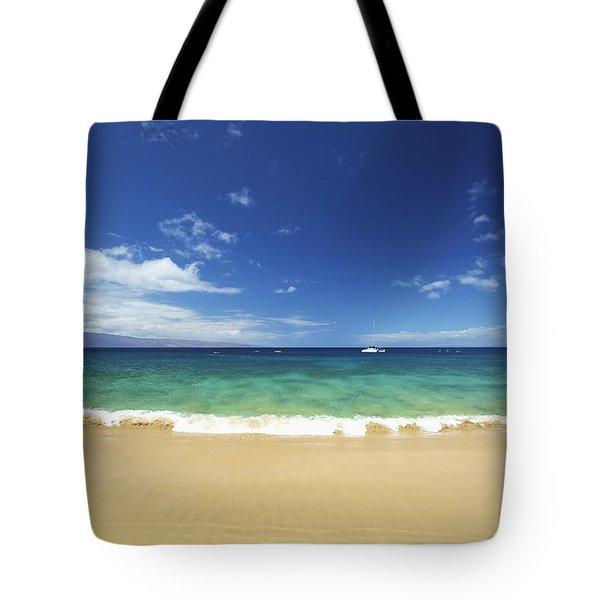 Poolenalena Beach Park Tote Bag by Kicka Witte
