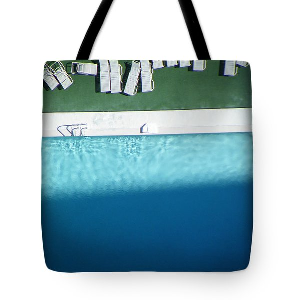 Poolside Upside Tote Bag by Brian Boyle