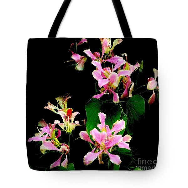 Poor Mans Orchid Tote Bag