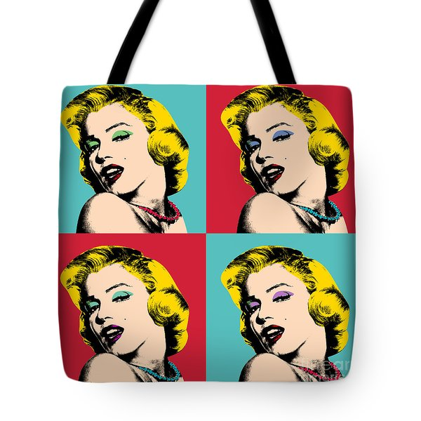 Pop Art Collage  Tote Bag
