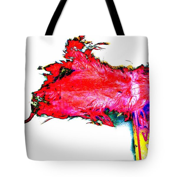 Pop Art Mousetrap Tote Bag
