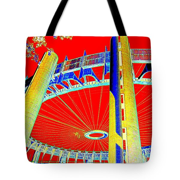 Pop Goes The Pavillion Tote Bag by Ed Weidman