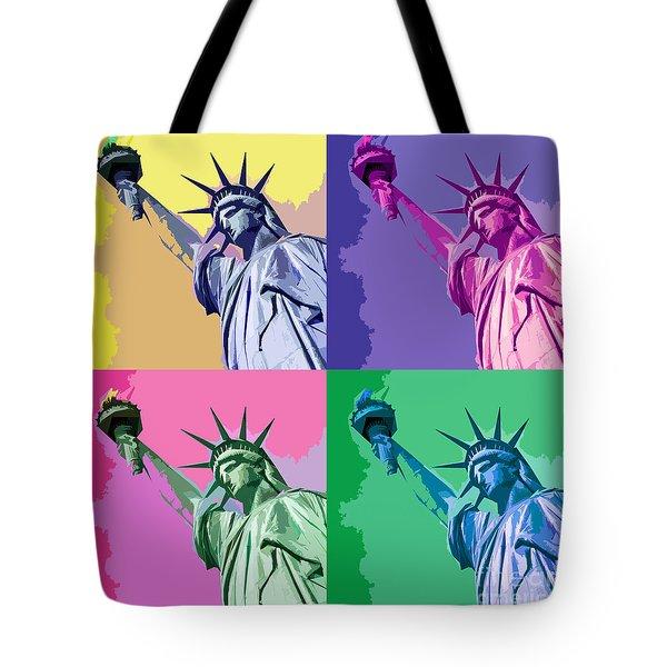 Pop Liberty Tote Bag
