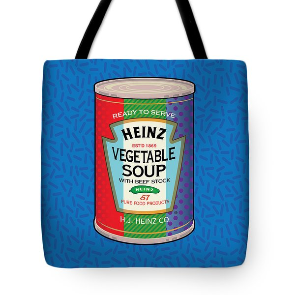 Pop Vegetable Soup Tote Bag