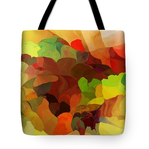Tote Bag featuring the digital art Popago by David Lane