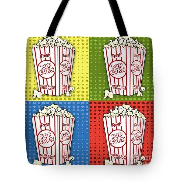 Popcorn Pop Art-jp2375 Tote Bag