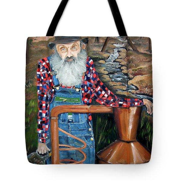 Popcorn Sutton - Bootlegger - Still Tote Bag