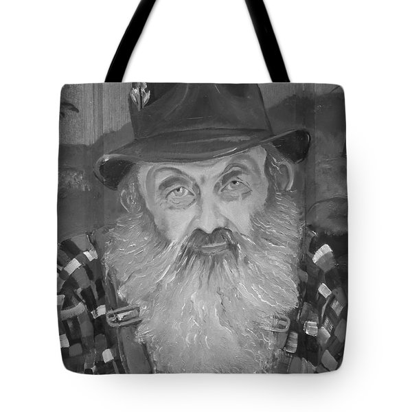 Popcorn Sutton - Jam - Moonshine Tote Bag