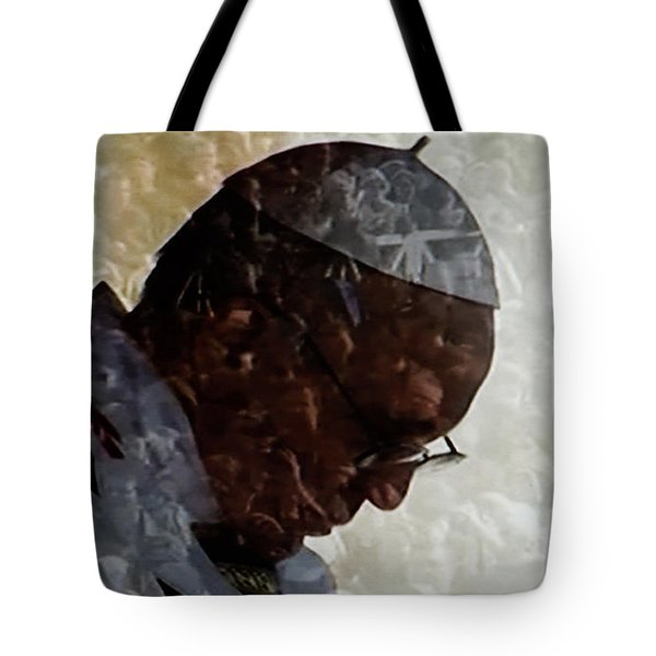 Pope Francis Inauguration Vatican 19 February 2013  Tote Bag