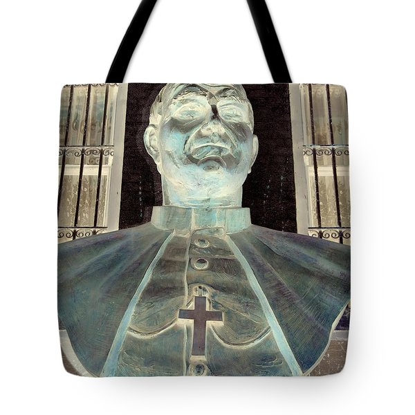 Pope John Paul The Second Tote Bag by Ed Weidman