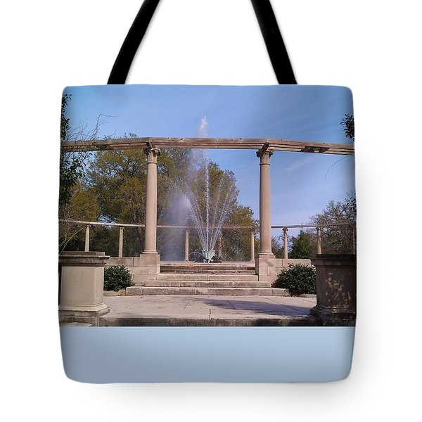 Popp Fountain New Orleans City Park Tote Bag by Deborah Lacoste