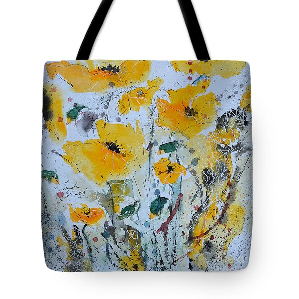 Poppies 03 Tote Bag
