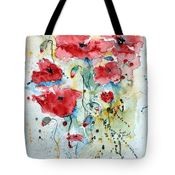 Poppies 04 Tote Bag