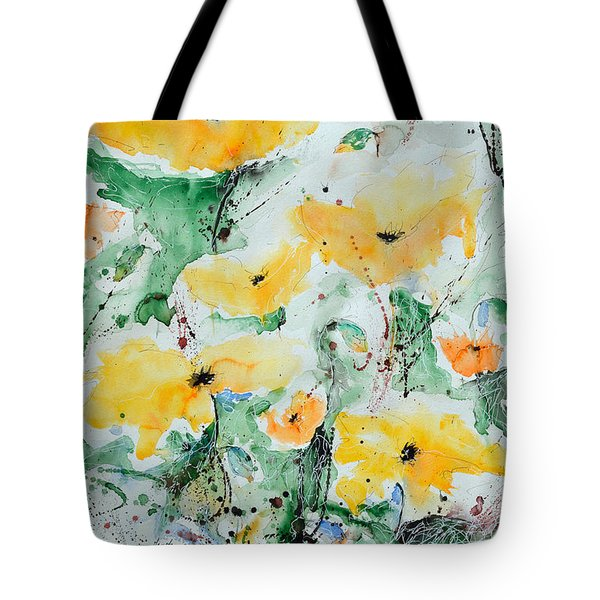 Poppies 07 Tote Bag