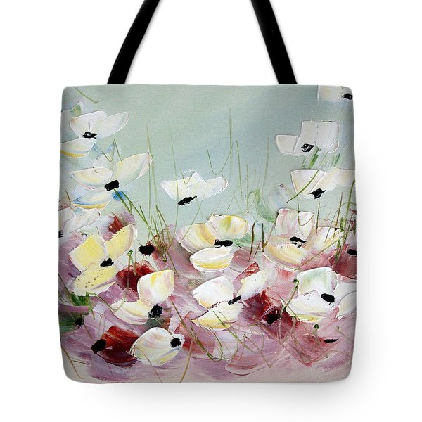 Poppies 5 Tote Bag