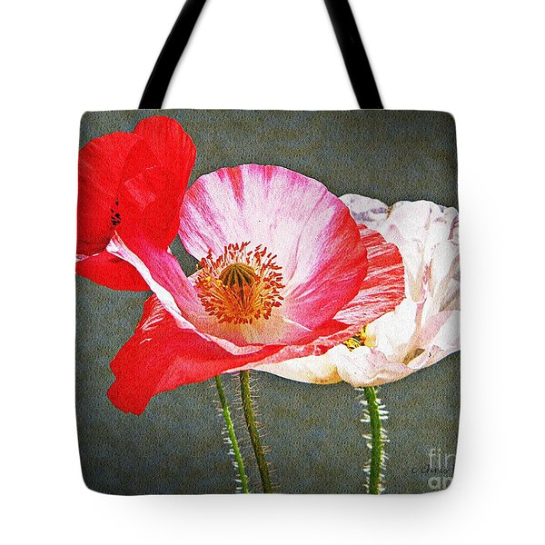 Poppies  Tote Bag by Chris Berry