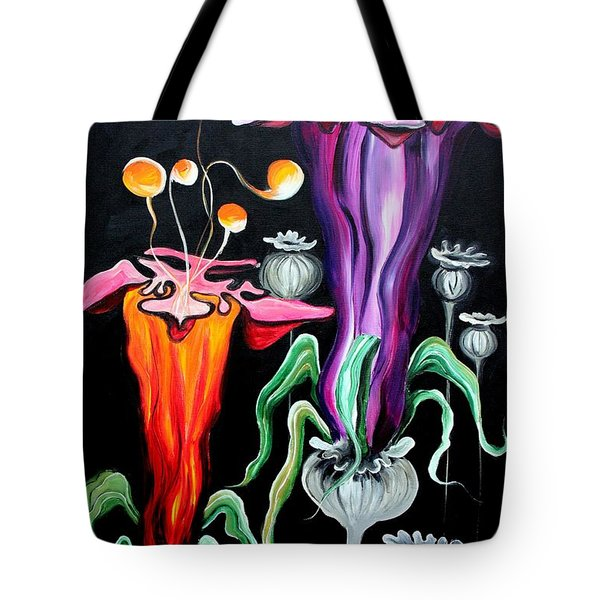 Poppies Fantasy.. Tote Bag