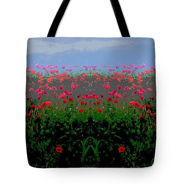 Poppies Field Tote Bag