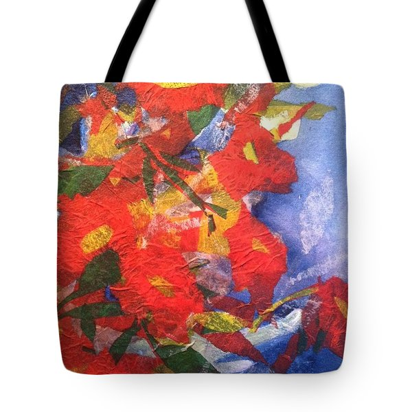 Poppies Gone Wild Tote Bag
