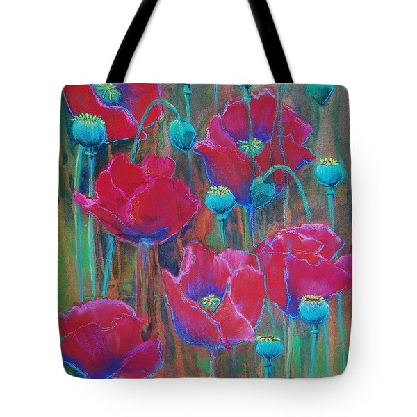Poppies  Tote Bag by Jani Freimann