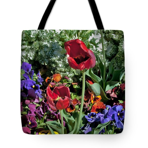 Tote Bag featuring the photograph Poppies by Mae Wertz