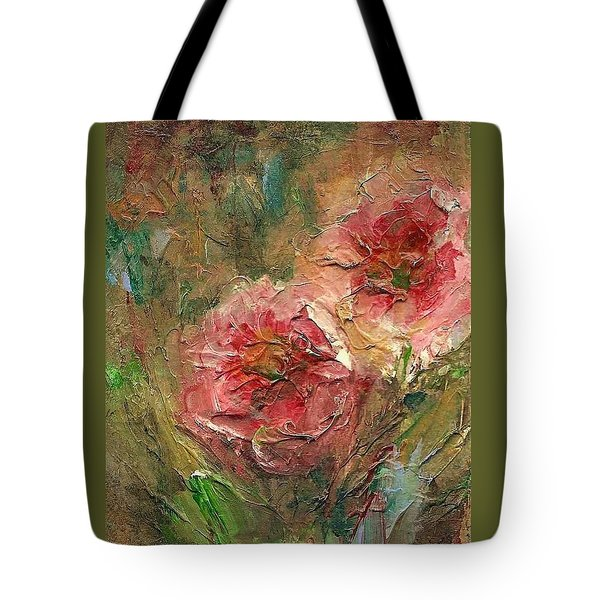 Poppies Tote Bag by Mary Wolf