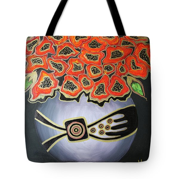 Poppies Revisited.. Tote Bag