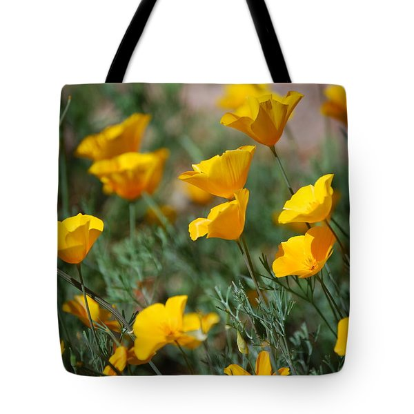 Tote Bag featuring the photograph Poppies by Tam Ryan