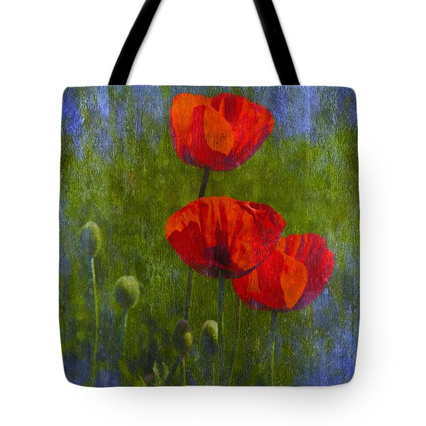 Poppies Tote Bag by Veikko Suikkanen