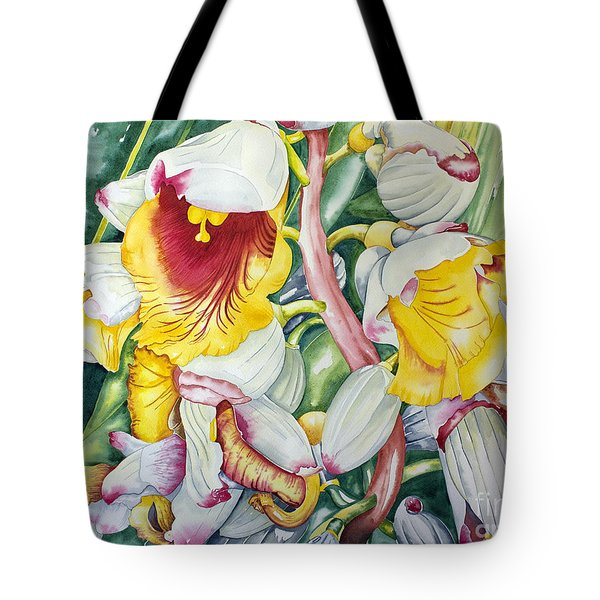 Poppin Out Tote Bag