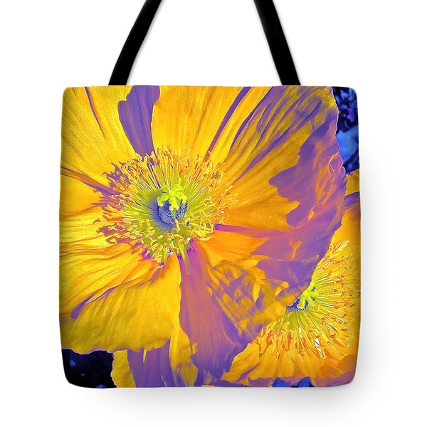 Poppy 14 Tote Bag by Pamela Cooper