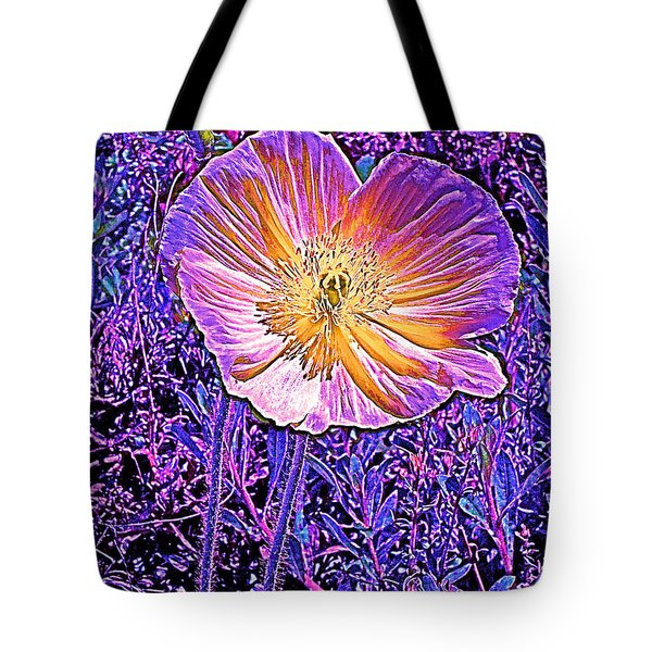 Tote Bag featuring the photograph Poppy 3 by Pamela Cooper