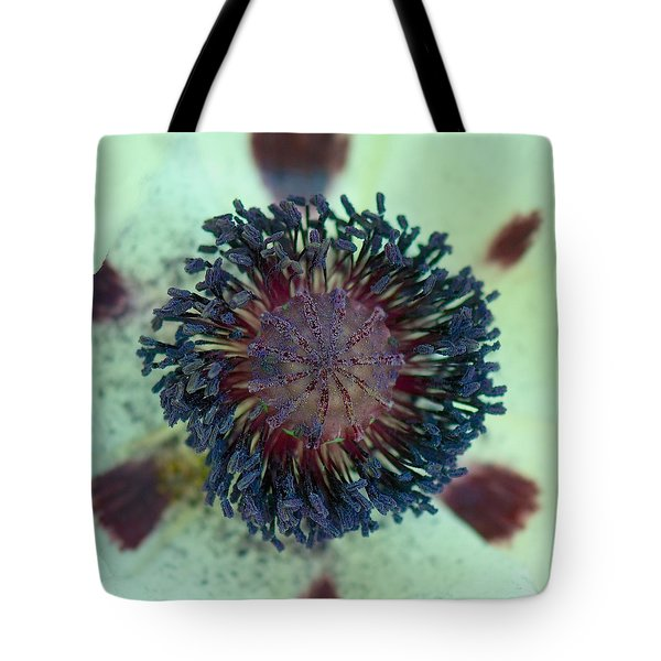 Poppy Center Tote Bag