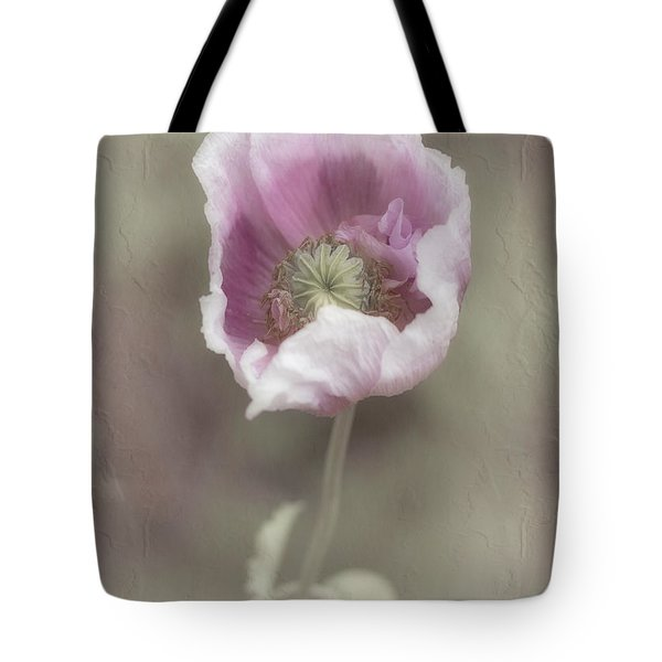 Tote Bag featuring the photograph Poppy by Elaine Teague