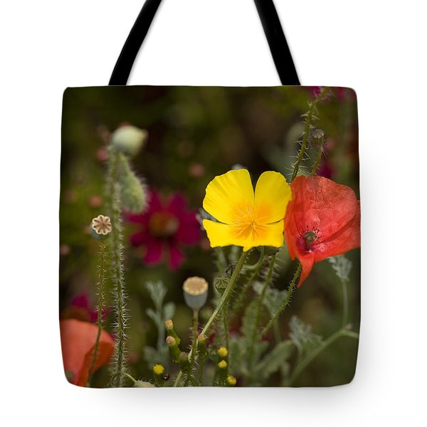 Tote Bag featuring the photograph Poppy Love by Mark Greenberg