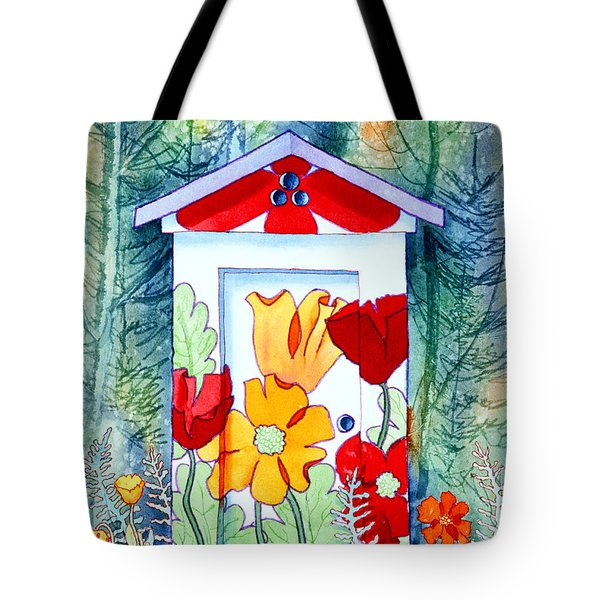Poppy Potty Tote Bag