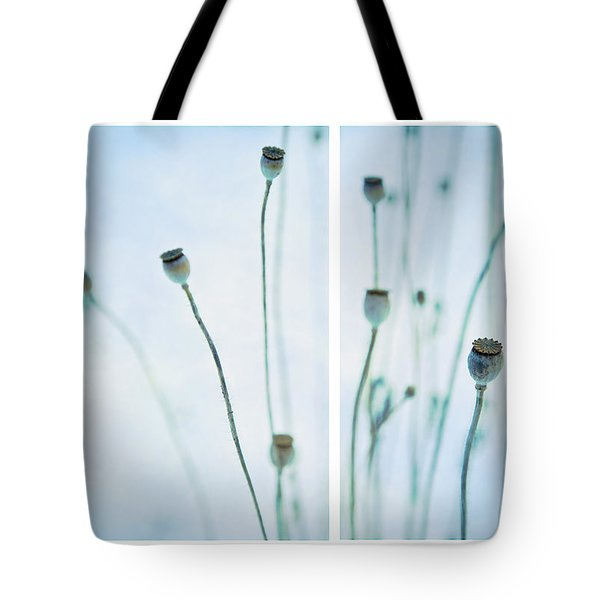 Poppy Seed Pods Tote Bag by Theresa Tahara
