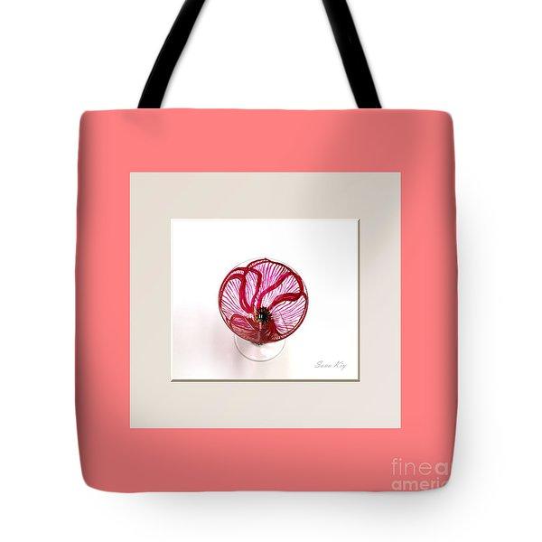 Poppy. Soul Inspirations Collection Tote Bag by Oksana Semenchenko
