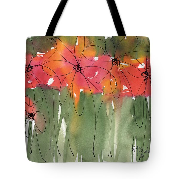 Poppy To Posy Tote Bag