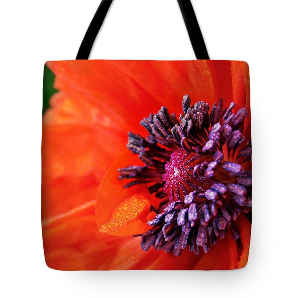 Poppy's Purple Passion Tote Bag by Bill Pevlor