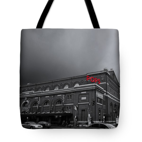 Pops Tote Bag by K Hines