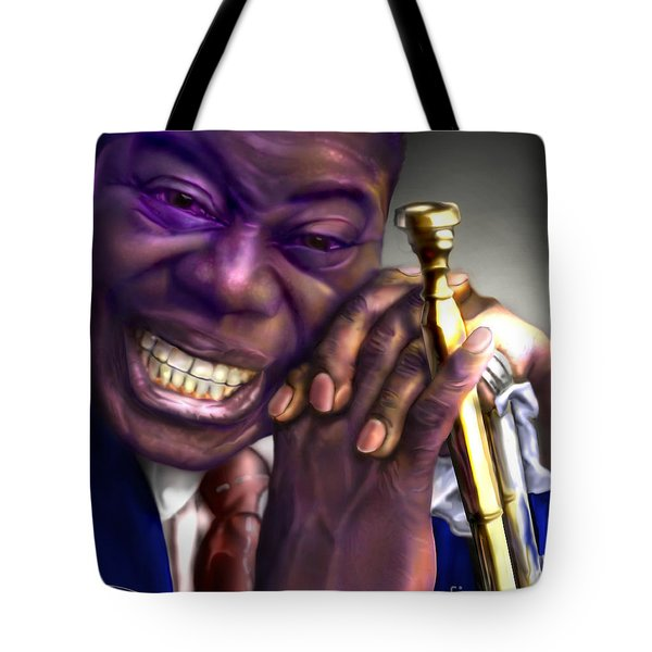Pops Tote Bag by Reggie Duffie