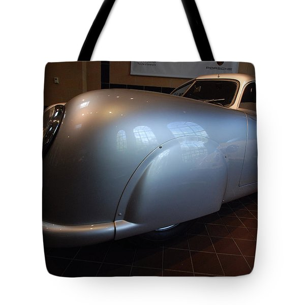 Tote Bag featuring the photograph Porsche 1949 356 S L Gmund Coupe by John Schneider