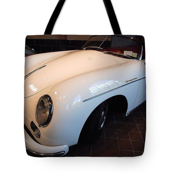 Tote Bag featuring the photograph Porsche 1957 356 A Speedster by John Schneider