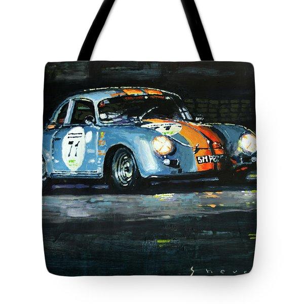 Porsche 356 A 1959 Le Mans Classic 2010 Tote Bag