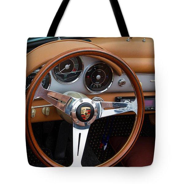 Porsche 356b Super 90 Interior Tote Bag