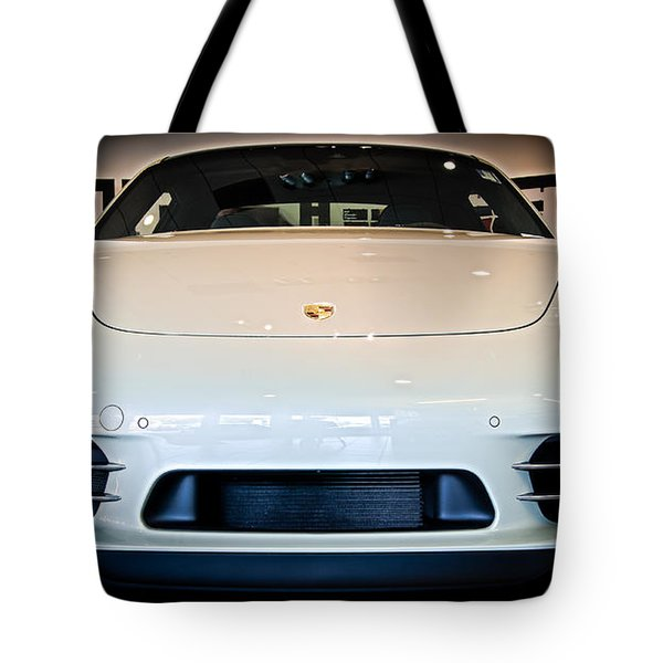 Porsche 911 50th Front With Led's Tote Bag
