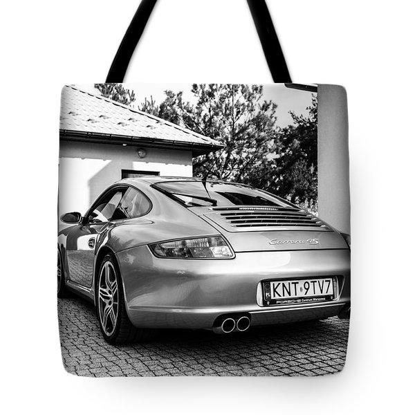 Porsche 911 Carrera 4s Tote Bag