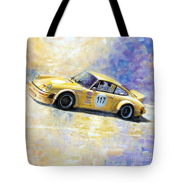 Porsche 911 S Typ G Josef Michl Tote Bag